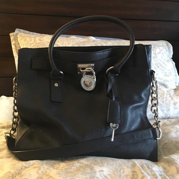 5623d45a2887 KORS Michael Kors Handbags - Michael Kors Extra Large Hamilton Satchel
